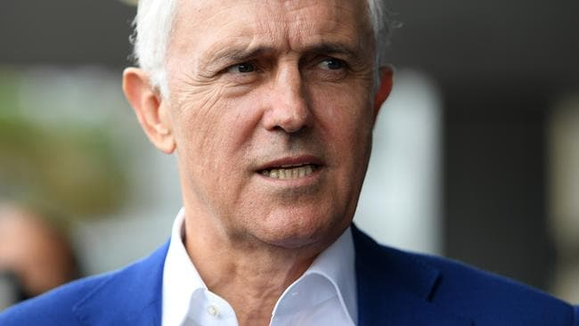 Former prime minister Malcolm Turnbull. Picture: AAP