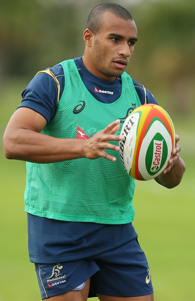 Genia might not be sighted in the Wallabies No.9 for some time.