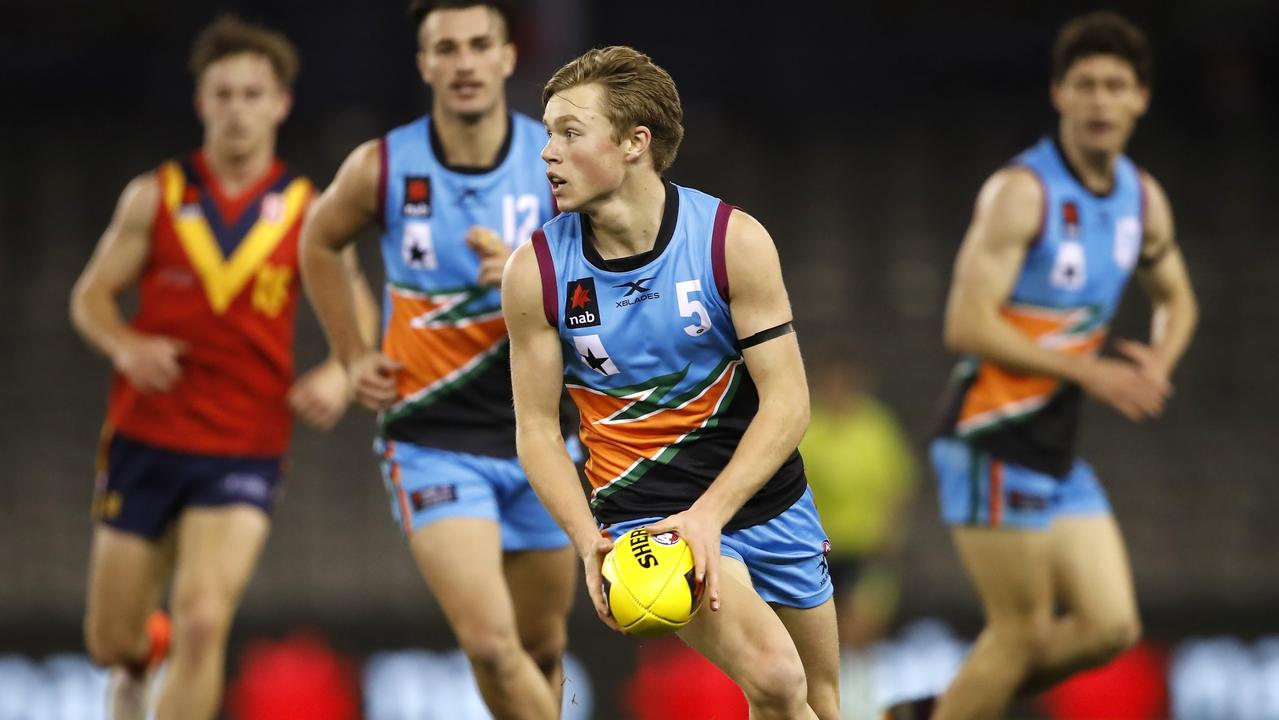 Braeden Campbell will join the Swans. Picture: Dylan Burns