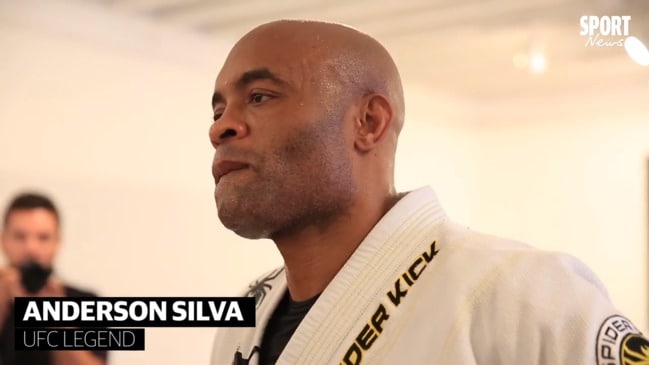 Anderson Silva says he'd love to fight Conor McGregor