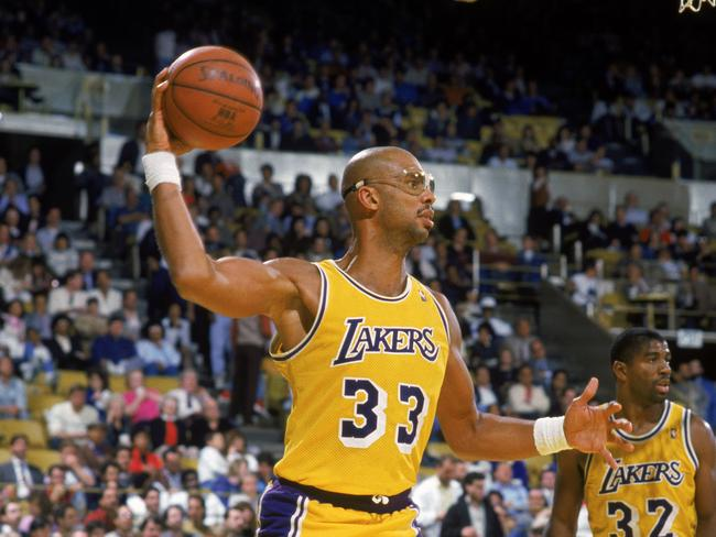 Los Angeles Lakers legend Kareem Abdul-Jabbar.