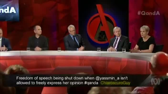 Q&A - Should we all realise where the limits are in the area of freedom of speech?