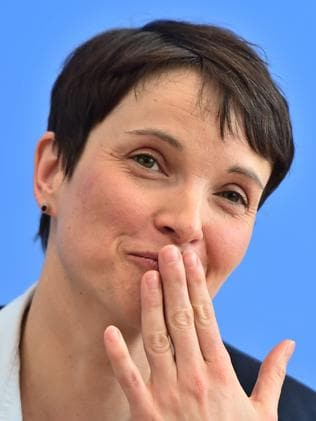 Frauke Petry is the leader of the Alternative for Germany Party. File picture: AFP PHOTO / John MACDOUGALL