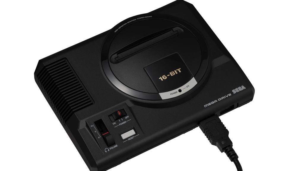 Sega to release Mega Drive Mini console with 42 classic