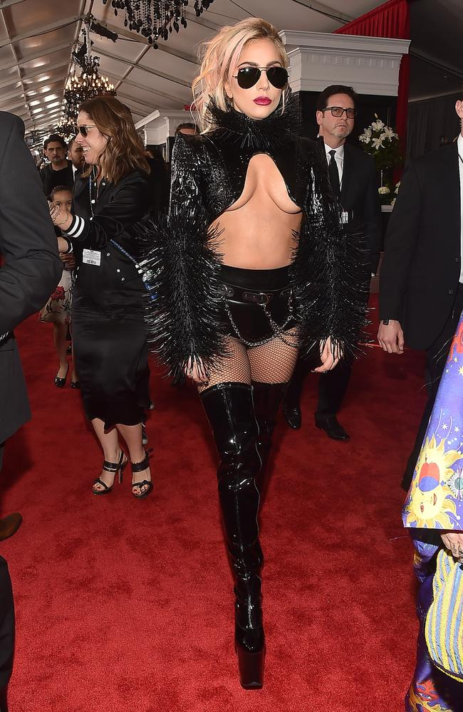 Musician Lady Gaga attends the 2017 Grammy Awards. Picture: Getty