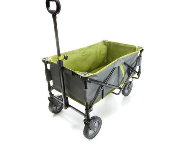 The foldable beach trolley. Image: Kmart