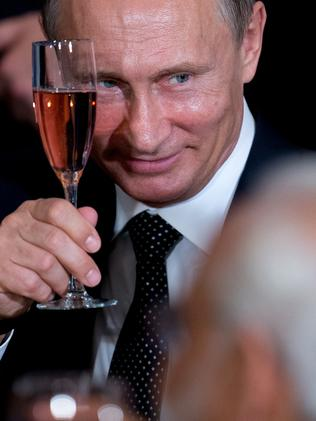 Russian President President Vladimir Putin.
