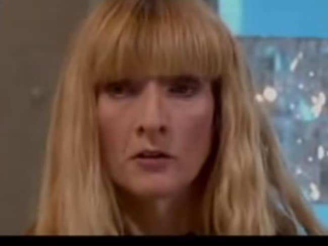 Janet as she appeared in a 2012 ITV interview