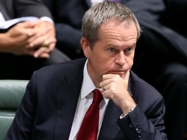 Incorrect ... Opposition Leader Bill Shorten said Warren Entsch's comments were disappointing. Picture: Kym Smith
