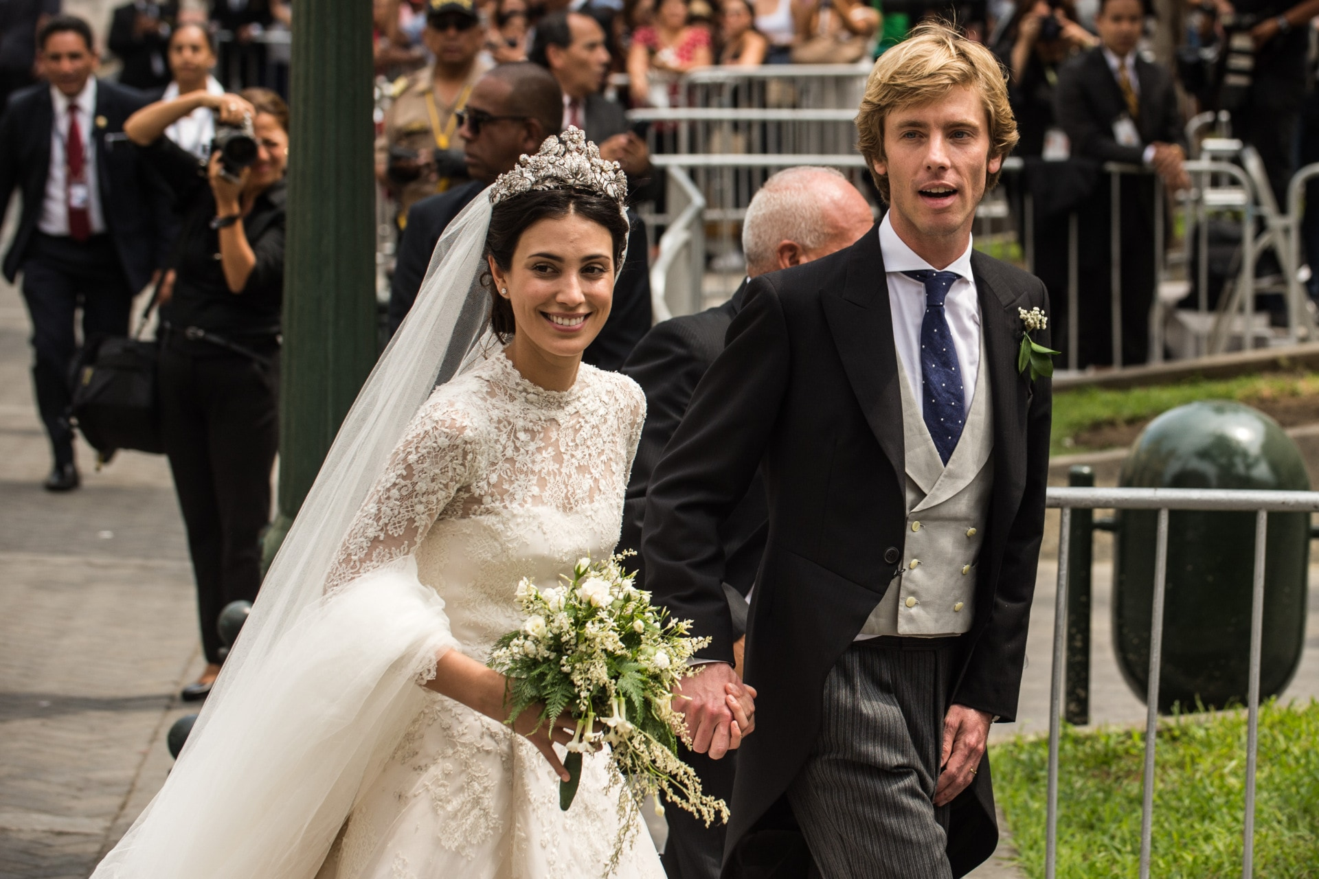 Prince Christian of Hanover marries Alessandra de Osma in Peru