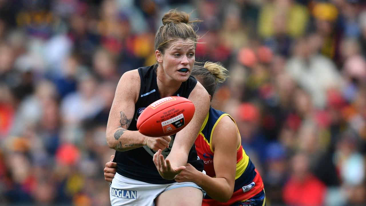 Collingwood is making a play for Blue Brianna Davey.