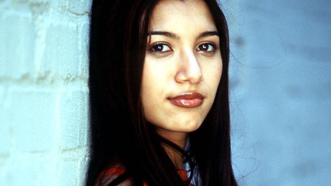 Chantelle Barry back in 2000.