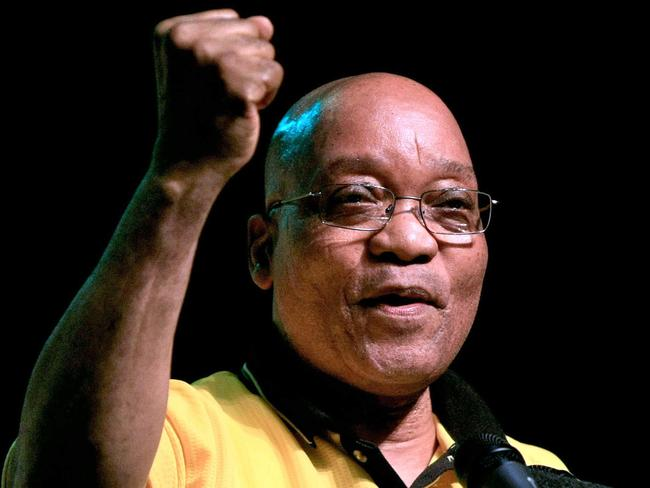 Mr Zuma has survived by trading on the ANC's legacy as the organisation that ended white-minority rule. Picture: Rajesh Jantilal/AFP