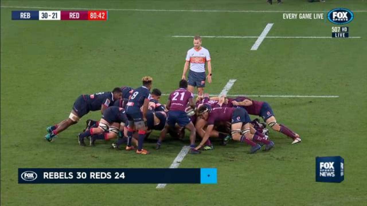 Super Rugby: Quade Cooper concussed at Rebels beat Reds 30 ...