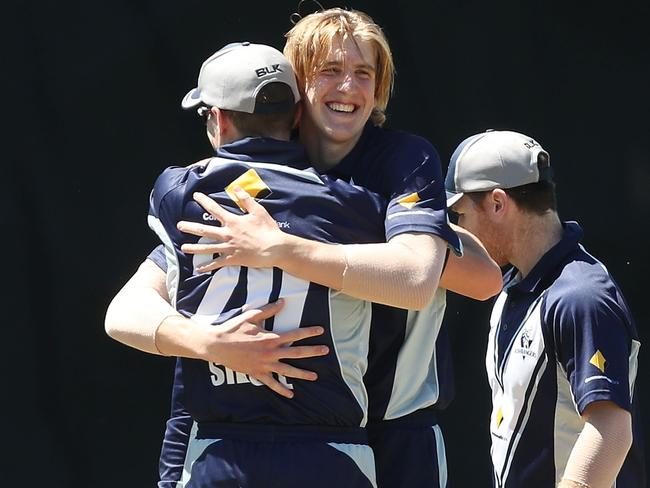 Will Sutherland made a promising start to his domestic career.