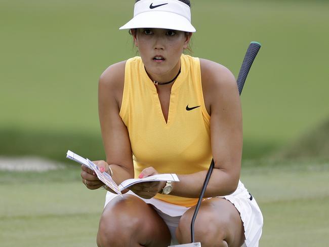 Michelle Wie.