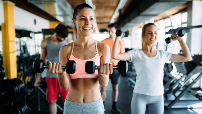 Women shouldn't be afraid of weights. Image: iStock.