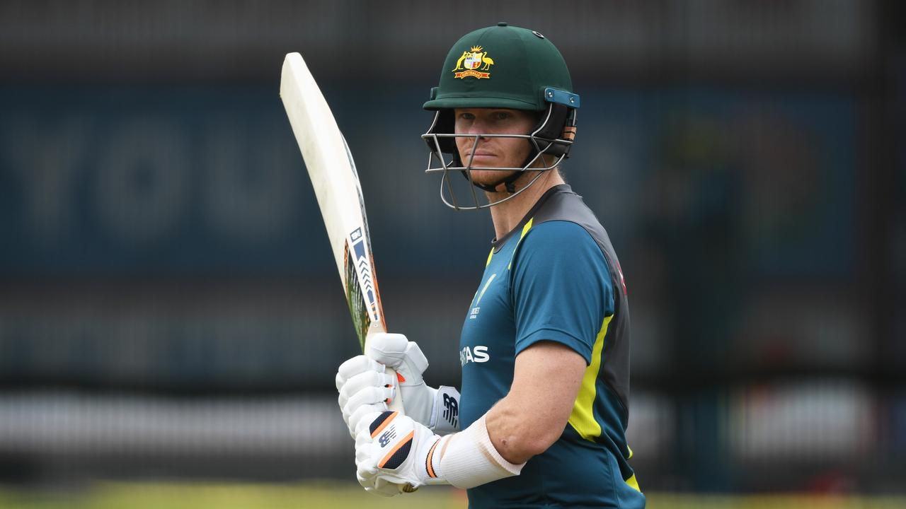 Steve Smith is tracking well. (Photo by Gareth Copley/Getty Images for ECB)