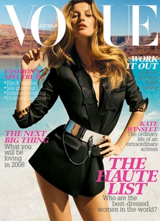 2008 Vogue Australia covers