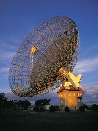 The Parkes Observatory.