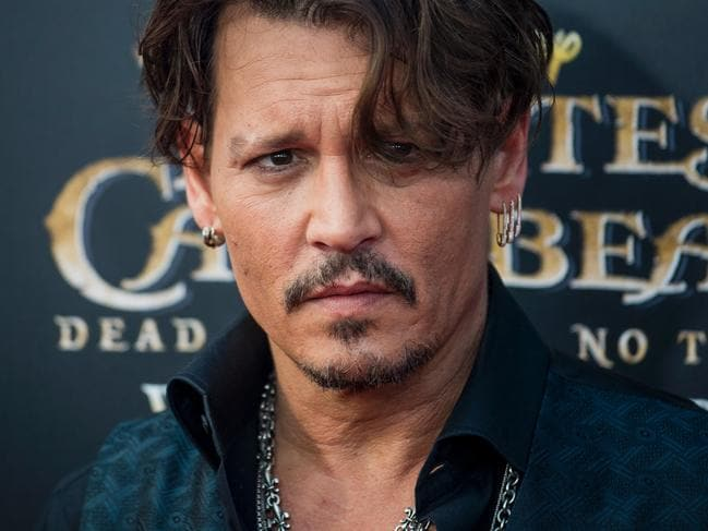 Johnny first appeared in the films in 2003 and his last was in 2017. Picture: AFP PHOTO / Johannes Eisele