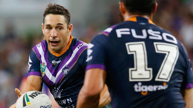 Billy Slater is expected to return for the Melbourne Storm this weekend. Picture: Getty Images