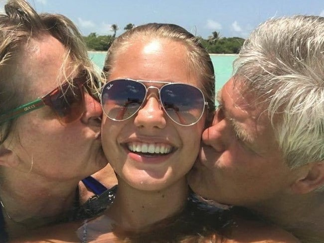 The Dutch beauty queen's parents broke the news on Instagram. Picture: Instagram