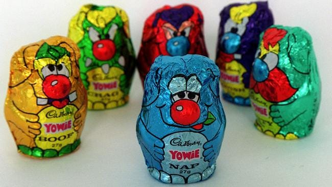 Yowies were once the most popular chocolate in Australia.