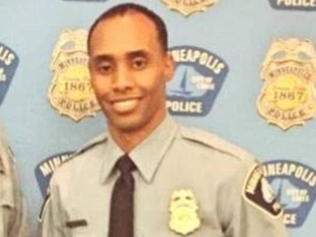 Mohamed Noor, the Minneapolis police officer who is accused of killing Justine Damond. Picture: Supplied