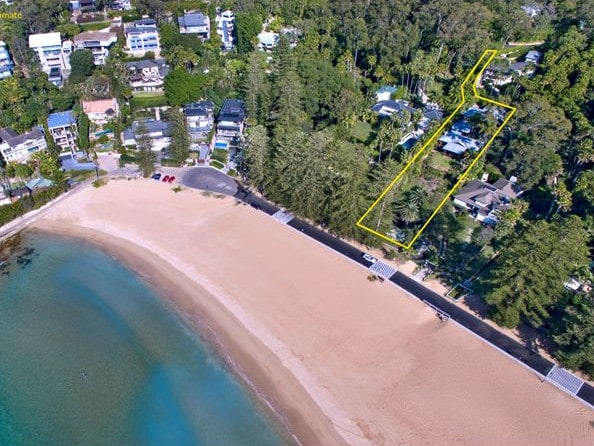 A private and important oceanfront site.