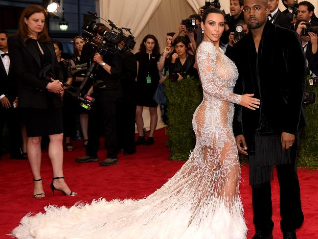 The couple everyone was waiting for ... Kim Kardashian and Kanye West arrive.