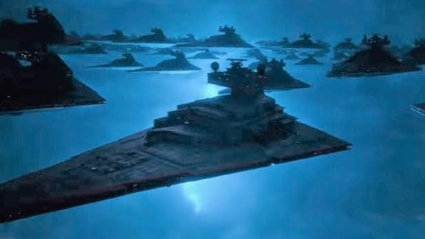 Look at the size of this fleet. It's absurd.