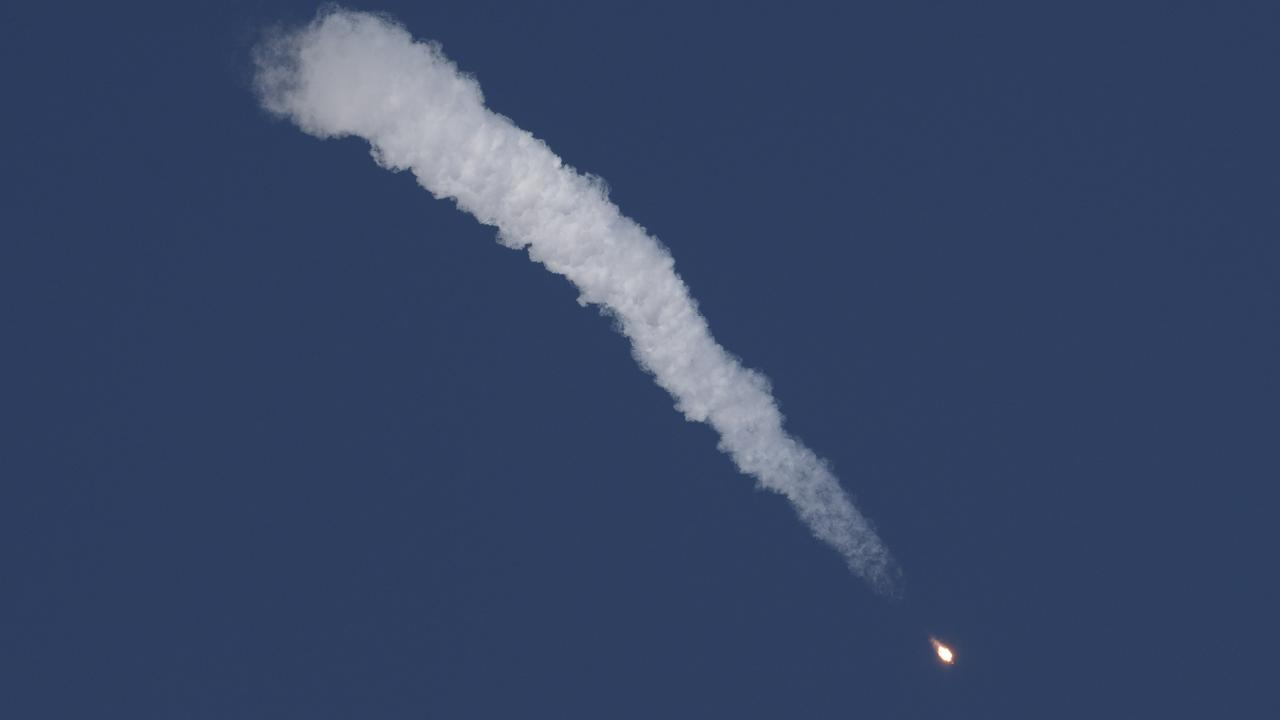 The Soyuz rocket launch on October 11, 2018 in Kazakhstan. If it had succeeded, the astronauts aboard would have replaced the current crew and stayed on the ISS for six months. Picture: NASA via Getty
