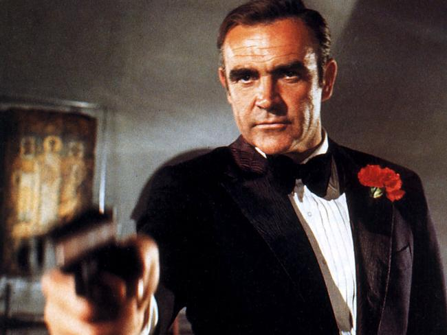 Actor Sean Connery negotiated a $5 million pay check for his role in Diamonds Are Forever.