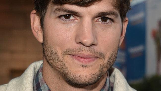 Ashton Kutcher tweets ...