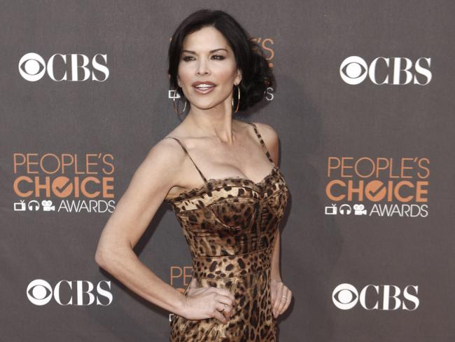 Lauren Sanchez has been shooting aerial footage of Blue Origin rocket launches and landings for Mr Bezos. Picture: AP