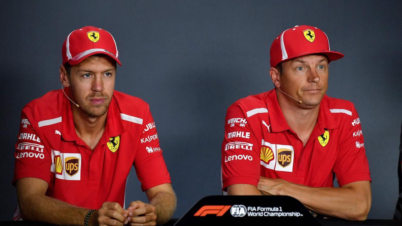 Kimi Raikkonen only won once during his partnership with Sebastian Vettel.