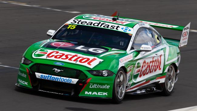 Rick Kelly in his new Mustang. Picture: Daniel Kalisz/Getty
