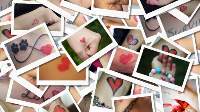 The Red Heart Campaign is attracting attention on Facebook. Picture: Facebook. Source: Supplied