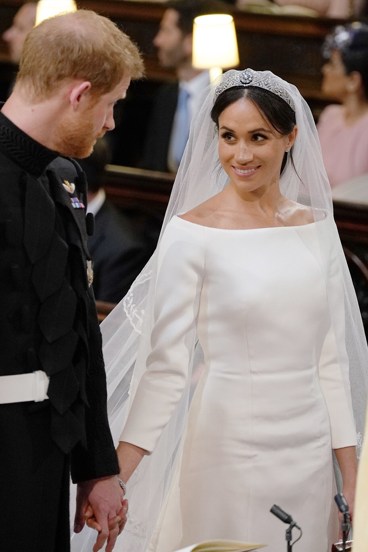 Crown jewels: all the jewellery Meghan Markle wore on her wedding day