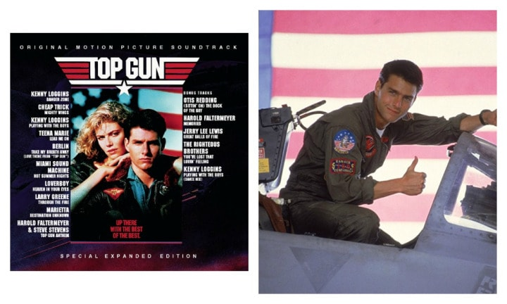 "TOP GUN: ""I feel the need, the need for speed! Highway to the Danger Zone has got to be one of the best songs from that soundtrack, it's so iconic to the movie. But then there's also Take My Breath Away, which always makes me think about a young Tom Cruise, what a spunk,"" said Leah."