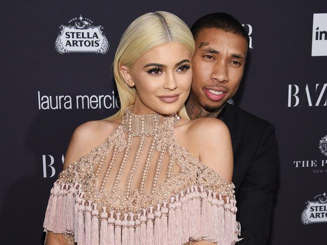 In January, Tammy was linked to Kylie Jenner's ex Tyga. Picture: Dimitrios Kambouris/Getty Images for Harper's Bazaar.
