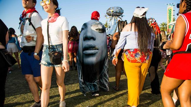 When in doubt, just wear Beyonce. Picture: Kyle Grillot/AFP