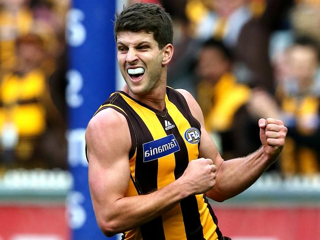Hawthorn's Luke Breust has been one of the most improved players in the competition this season. Picture: Wayne Ludbey