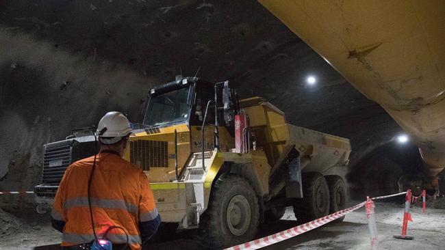 NorthConnex tunnel worker dead: Jimmy Adams killed in Sydney