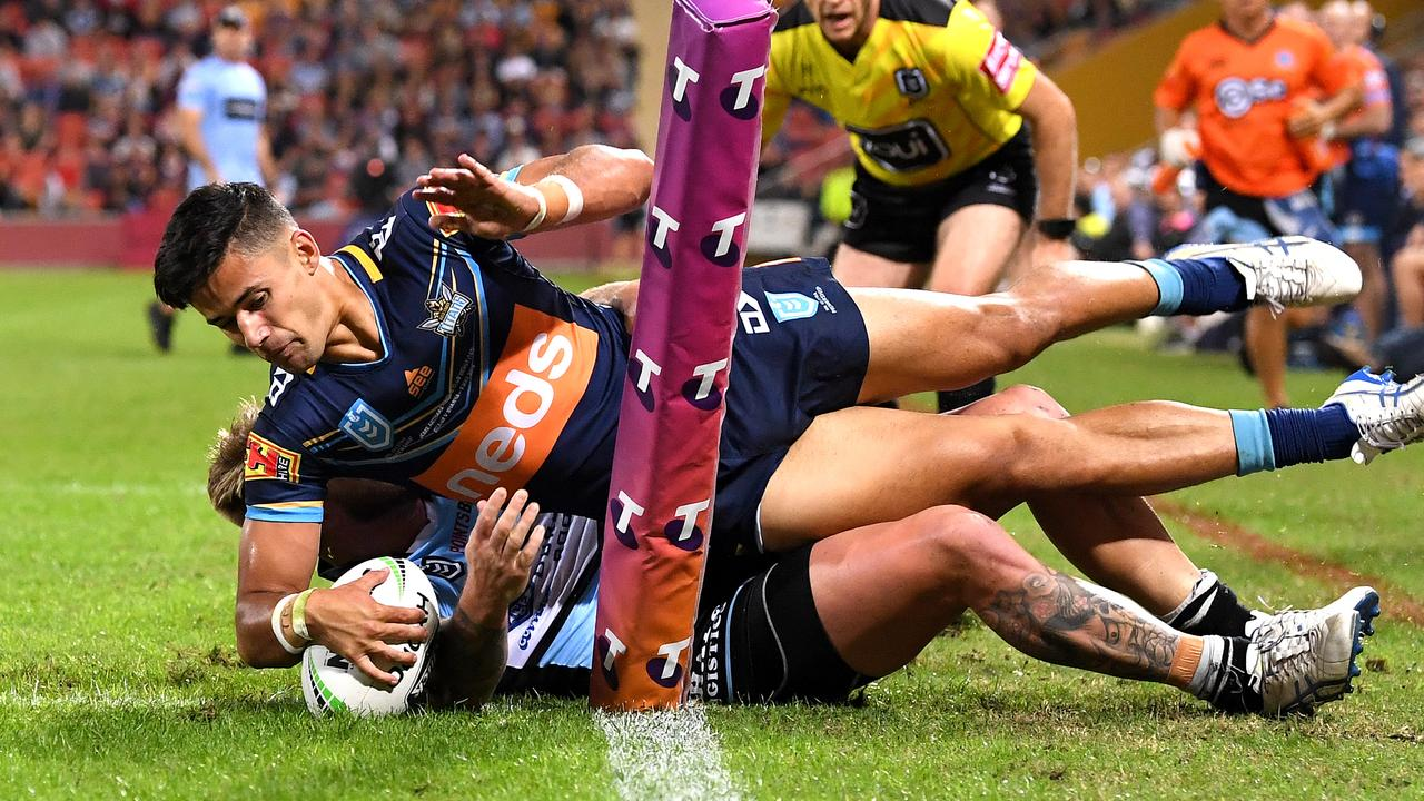 Titans debutant Jesse Arthars once walked away from an NRL deal to support his family.