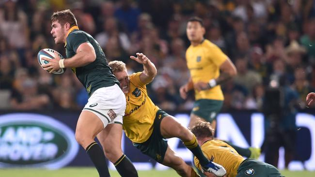 Malcolm Marx of the Springboks during the Rugby Championship in 2017.