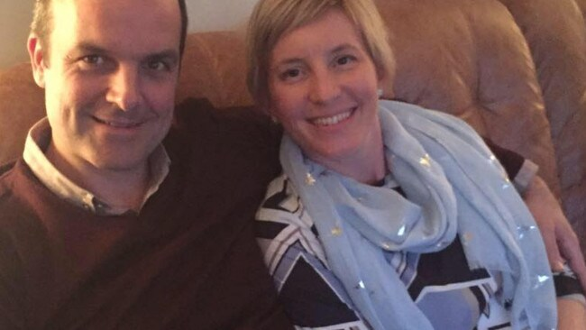 Brits Ben and Anita Nicholson who were caught up in the attack. Source: Facebook