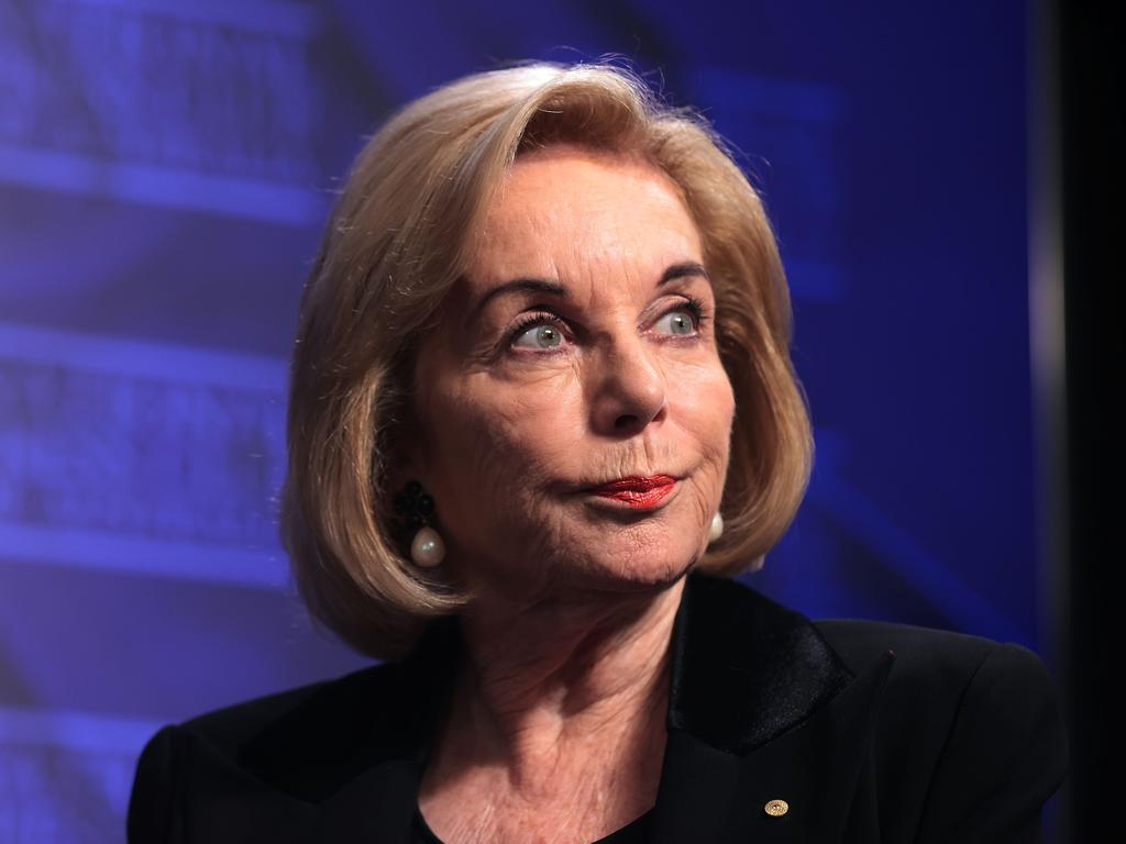 Ita Buttrose discussed a vision for a healthy ageing in Australia at the National Press Club in Canberra. Picture: NCA NewsWire/Gary Ramage