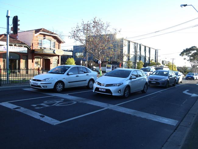 Yes, we won't be sad to have to leave traffic lights in the past. Picture: Hamish Blair